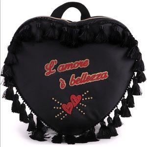⚡️flash sale⚡️NWOT Dolce & Gabbana Heart shaped Backpack